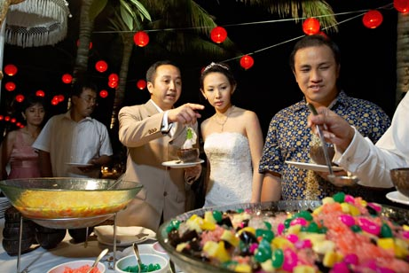Bali wedding - catering